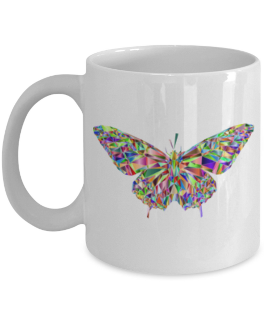 Funny Coffee Mug - Lovely Butterfly Lovers Mugs - Funny White coffee mugs 11 oz