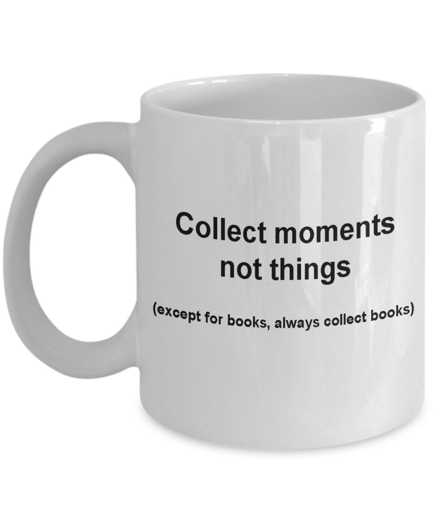 Book lovers mug fueled by coffee -Funny Christmas Gifts - White coffee mugs 11 oz