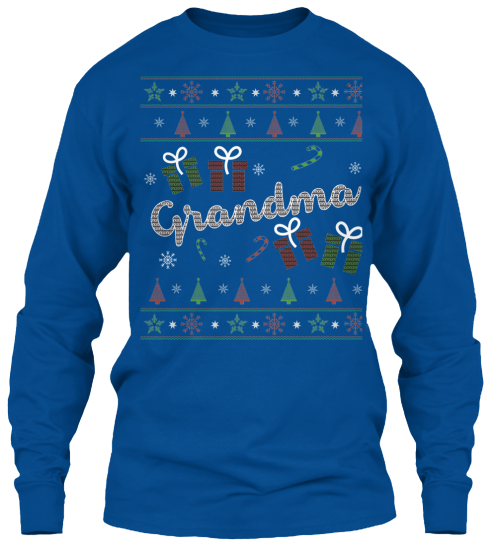 Christmas Grandma Ugly Sweater - Zapbest2  - 11