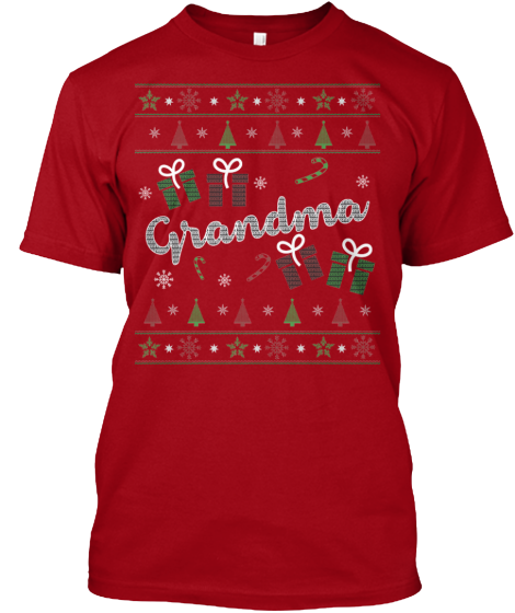 Christmas Grandma Ugly Sweater - Zapbest2  - 2