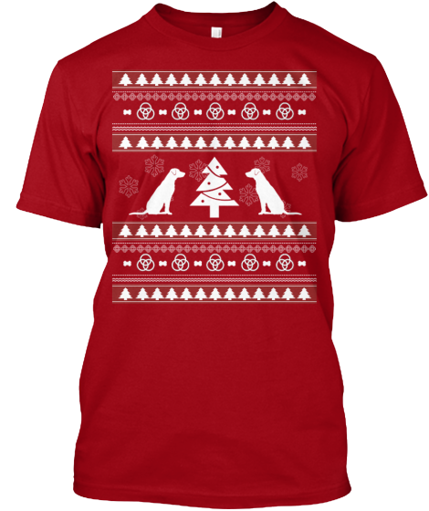 Christmas Labrador Ugly Sweater - Zapbest2  - 2