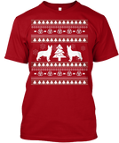 Christmas German Shepherd Ugly Sweater - Zapbest2  - 2