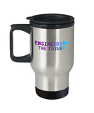 Engineering The Future Travel Coffee Cup - Coffee Travel Mug,Premium 14 oz Travel coffee cup