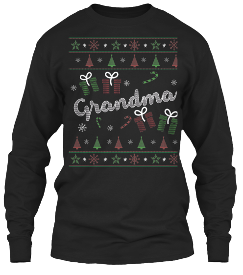 Christmas Grandma Ugly Sweater - Zapbest2  - 8