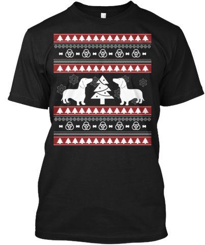 Christmas Dashchund Ugly Sweater - Zapbest2  - 1