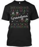 Christmas Grandma Ugly Sweater - Zapbest2  - 1
