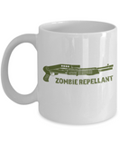 Plants vs zombies gift box mugs , Zombie Repellent - White Coffee Mug Porcelain Tea Cup 11 oz - Great Gift
