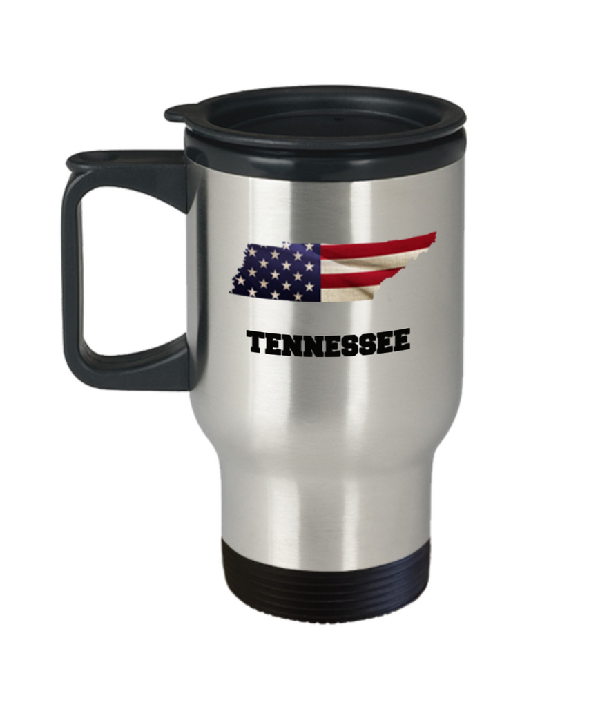 I Love Tennessee Travel Coffee Mugs Travel Coffee Cup sets - 14 oz Travel mugs