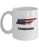 I Love Tennessee Coffee Mugs Coffee mug sets - 11 Oz State Love Gift Idea Tea Cup Funny