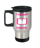 Parents Gifts Mugs , Parenthood Recalculating - Stainless Steel Travel Insulated Tumblers Mug 14 oz - Great Gift