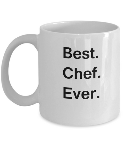 Best Chef White Mugs - Funny Valentine Coffee Mugs - Funny White coffee mugs 11 oz