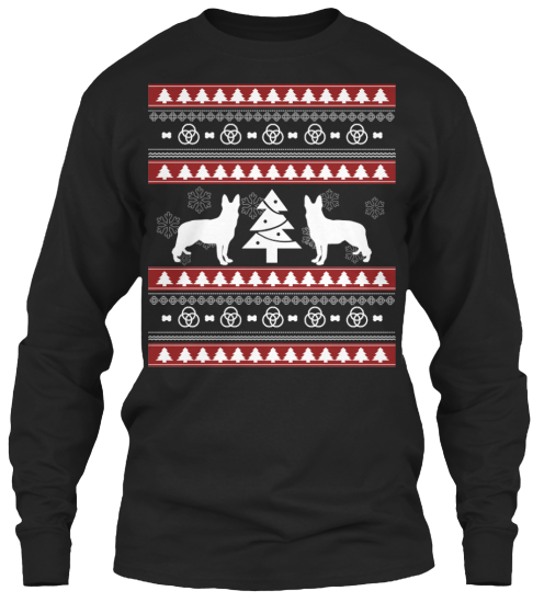 Christmas German Shepherd Ugly Sweater - Zapbest2  - 8