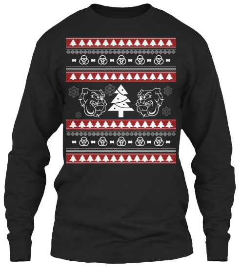 Christmas Bulldog Ugly Sweater - Zapbest2  - 8