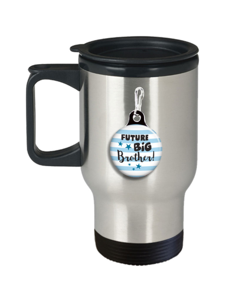 future big brother Coffee Mug- Coffee Travel Mug,Premium 14 oz Travel coffee cup