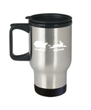 Gift gor animals lovers , Workweek Weekend - Stainless Steel Travel Insulated Tumblers Mug 14 oz - Great Gift