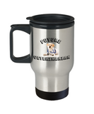 Future Veterinarian Coffee Travel Cup- Travel Coffee Cup,Premium 14 oz Travel coffee cup