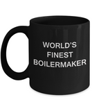 World's Finest Boilermaker mugs - Gifts For Boilermaker - Black coffee mugs 11 oz