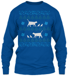 Christmas Mamma Cat Ugly Sweater - Zapbest2  - 11