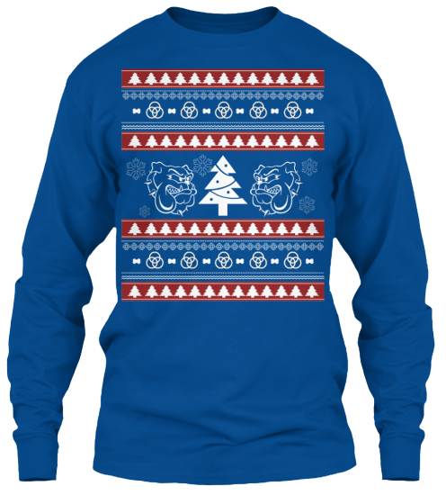 Christmas Bulldog Ugly Sweater - Zapbest2  - 11