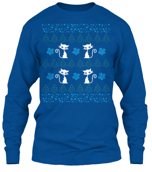 Christmas Cute Cat Ugly Sweater - Zapbest2  - 11