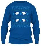 Christmas Funny Cat Ugly Sweater - Zapbest2  - 11