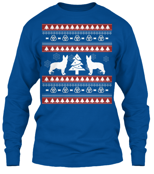 Christmas German Shepherd Ugly Sweater - Zapbest2  - 11