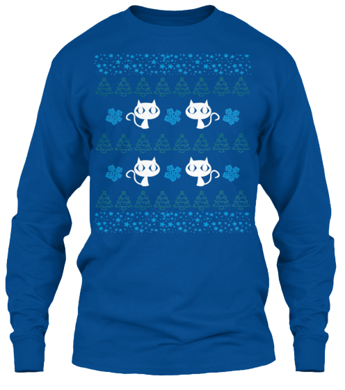 Christmas Meowy Ugly Sweater - Zapbest2  - 11