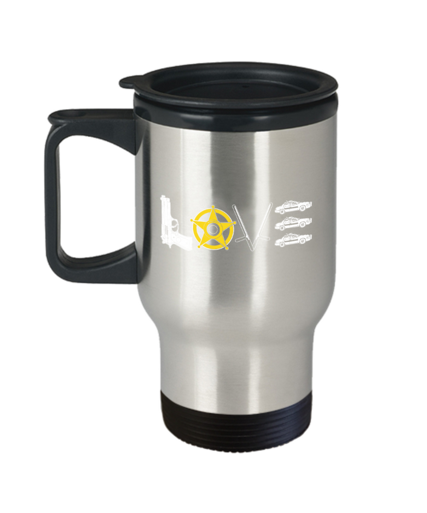 Love - Stainless Steel Travel Insulated Tumblers Mug 14 oz - Great Gift