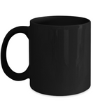 It's all about the Xoxo Black coffee Mugs - Funny Valentines day Black coffee mugs 11 oz