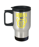 Gift gor animals lovers , Grrvana - Stainless Steel Travel Insulated Tumblers Mug 14 oz - Great Gift