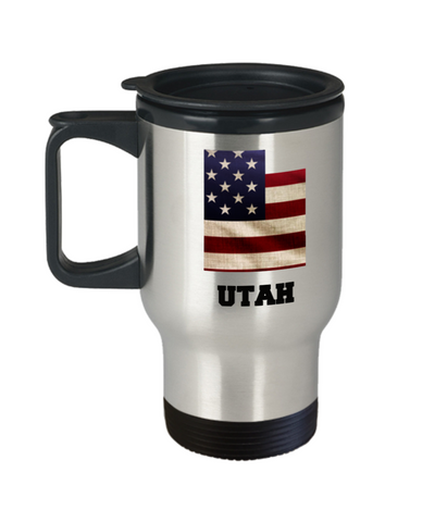 I Love Utah Travel Coffee Mugs Travel Coffee Cup sets - Travel Mug 14 oz Travel mugs