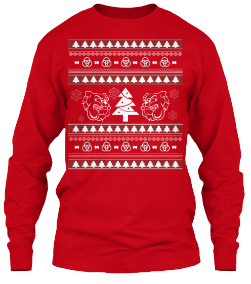 Christmas Bulldog Ugly Sweater - Zapbest2  - 9