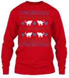 Christmas Funny Cat Ugly Sweater - Zapbest2  - 9