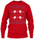 Christmas Meowy Ugly Sweater - Zapbest2  - 9