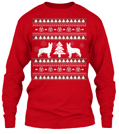Christmas German Shepherd Ugly Sweater - Zapbest2  - 9
