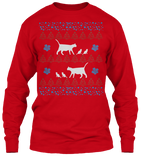 Christmas Mamma Cat Ugly Sweater - Zapbest2  - 9