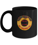 All you need is Love and donuts Black coffee Mugs - Black coffee mugs 11 oz
