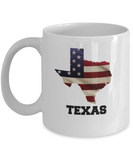 I Love Texas Coffee Mugs Coffee mug sets - 11 Oz State Love Gift Idea Tea Cup Funny