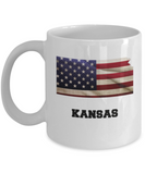I Love Kansas Coffee Mugs Coffee mug sets - 11 Oz State Love Gift Idea Tea Cup Funny
