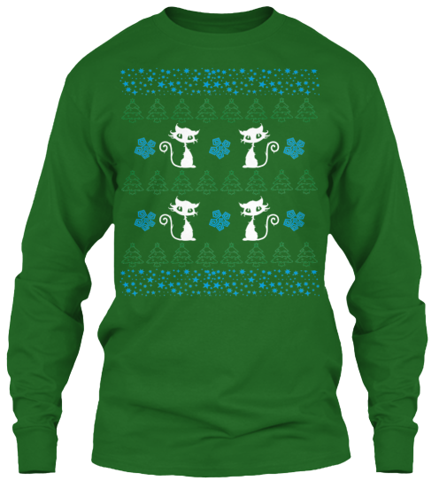 Christmas Cute Cat Ugly Sweater - Zapbest2  - 10