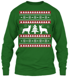 Christmas German Shepherd Ugly Sweater - Zapbest2  - 10