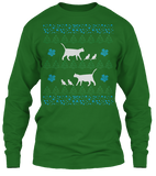 Christmas Mamma Cat Ugly Sweater - Zapbest2  - 10