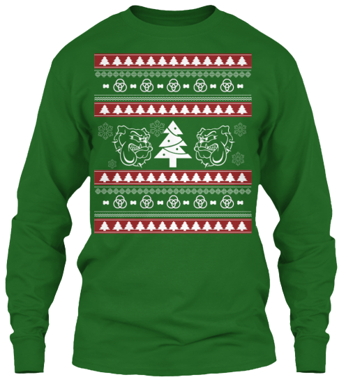 Christmas Bulldog Ugly Sweater - Zapbest2  - 10