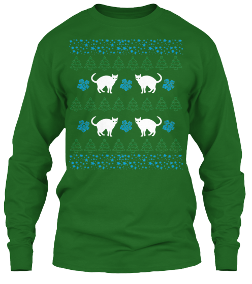 Christmas Funny Cat Ugly Sweater - Zapbest2  - 10
