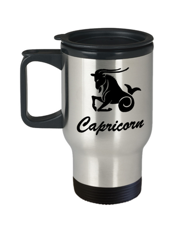 Capricorn - Capricorn Travel Mug - Capricorn Zodiac Mug - Zodiac - 14 oz Travel mugs