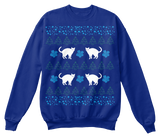Christmas Funny Cat Ugly Sweater - Zapbest2  - 5