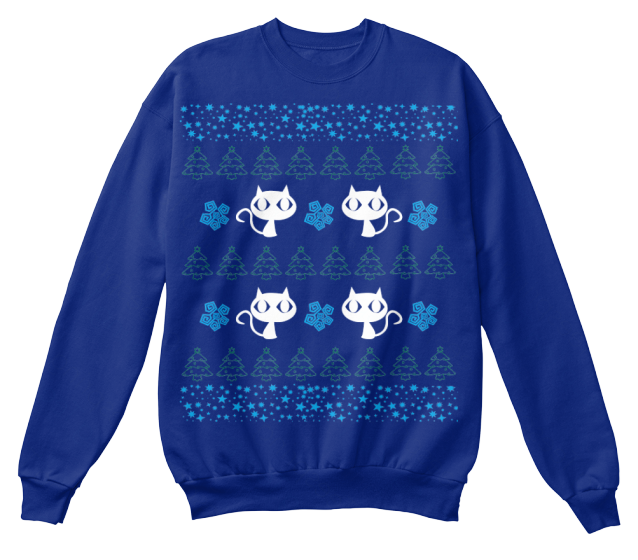 Christmas Meowy Ugly Sweater - Zapbest2  - 5