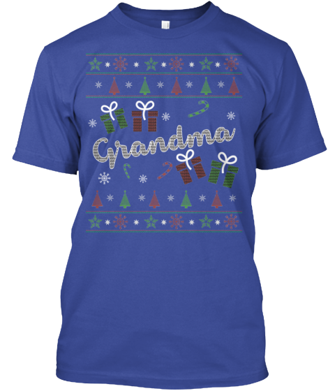 Christmas Grandma Ugly Sweater - Zapbest2  - 3