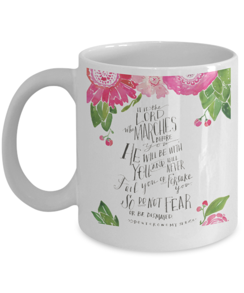 Proverbs Bible quotes , Do not fear - White Coffee Mug Tea Cup 11 oz Gift
