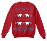 Christmas Funny Cat Ugly Sweater - Zapbest2  - 7